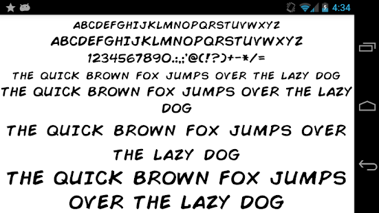 App Fonts for FlipFont 50 Written APK for Windows Phone