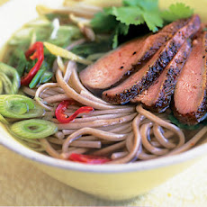 Five-spice Duck And Ginger Noodle Soup