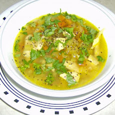 Chicken Mulligatawny Soup from
