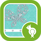 Diamond Butterfly GO Locker icon