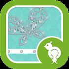 Diamond Butterfly GO Locker icon