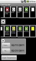 Screenshot of Charting App Demo
