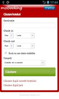 Screenshot of moBooking Romania