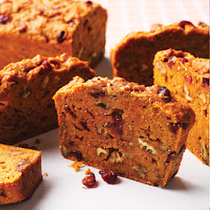 Nutmeg-Infused Pumpkin Bread