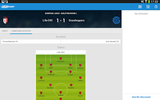 Screenshot of Eurosport.com