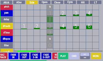 Screenshot of Cadeli drum machine free