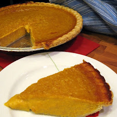 The World's Best Pumpkin Pie