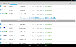 Screenshot of Flight Check Ireland