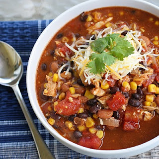 Chicken Taco Soup – A Post Trick or Treating Meal