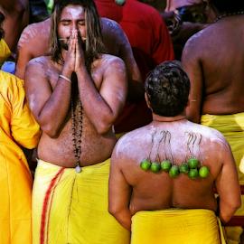 Thaipusam Festival  by Steven De Siow - News & Events World Events ( thaipusam, religion, hindu, devout, festival )