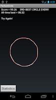 Screenshot of Perfect Circle