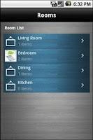 Screenshot of Home Inventory