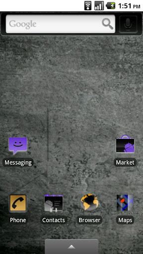 Inverted Droid Theme