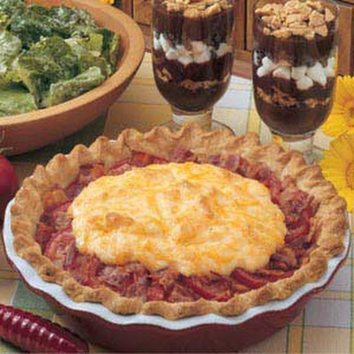 Tomato Bacon Pie