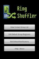 Screenshot of Ring Shuffler