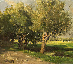 RIJKS: Willem Roelofs (I): painting 1885
