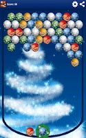 Screenshot of Christmas Balls (bubbles)
