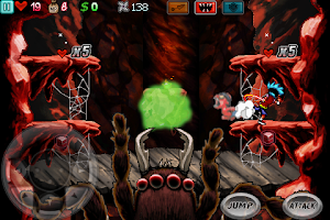 Screenshot of Ghost Ninja:Zombie Beatdown