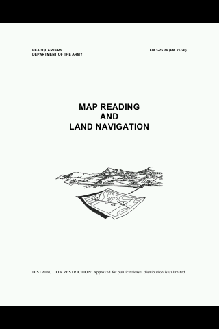 U.S. Army Map Reading Manual