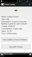 Screenshot of Roblox Catalog