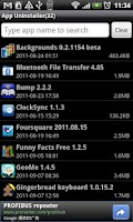 Screenshot of Super App Uninstaller Free
