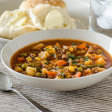 Quick Vegetable Beef Soup
