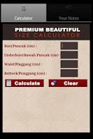 Screenshot of Premium Beautiful Calculator