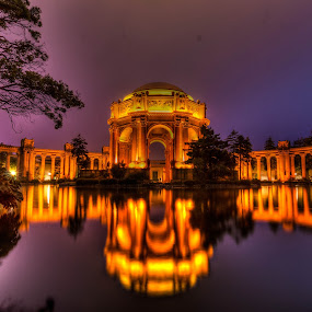 Palace of Fine Arts by Jayasimha Nuggehalli - Buildings & Architecture Public & Historical ( Lighting, moods, mood lighting )