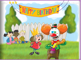 Screenshot of Silly Clown - Spot the mistake
