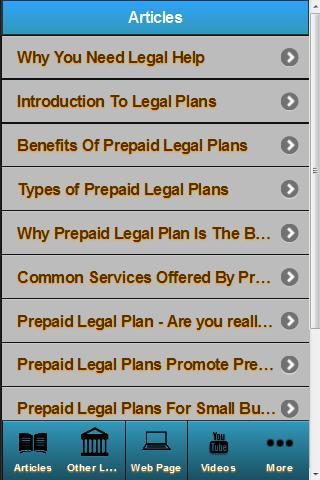 Legal Help Resource