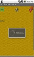 Screenshot of Komik Mesaj/Bildirim Sesleri