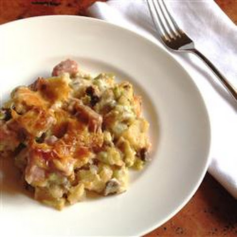 Ham, Potato and Broccoli Casserole