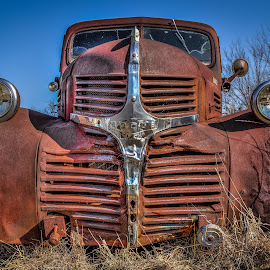 Old Dodge Truck by Ron Meyers - Transportation Automobiles