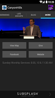 Screenshot of Canyon Hills Community Church