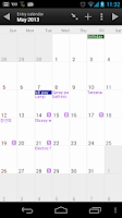 Screenshot of Journal - Orange Diary Demo