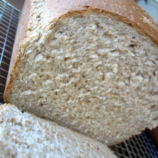 Whole-Wheat Bread with Wheat Germ and Rye