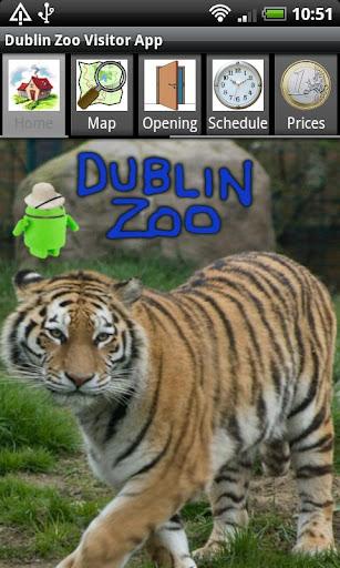 Dublin Zoo Visitor App