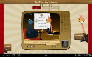 Screenshot of English for beginner