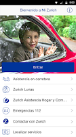 Screenshot of Zurich Seguros