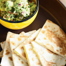 Cheese Quesadillas with Fresh Guacamole