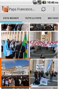 Pope Francis Bergoglio App- screenshot