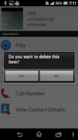 Screenshot of Save My Call 2.0