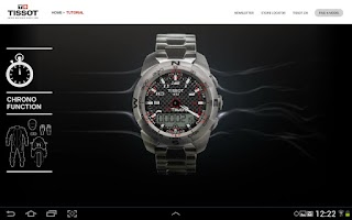 Screenshot of Tissot Touch