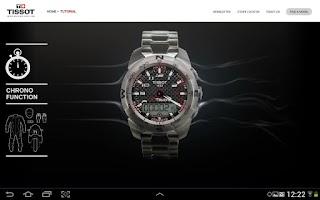Screenshot of Tissot Touch