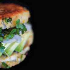 Sprouted Garbanzo Burgers Recipe