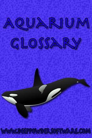 Aquarium Glossary