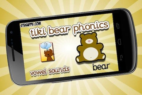 Tiki Bear Phonics Vowel Sounds