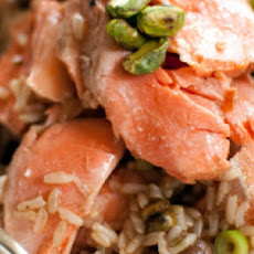 Brown Rice Salad With Salmon