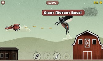 Screenshot of Bugduster - Flying Game