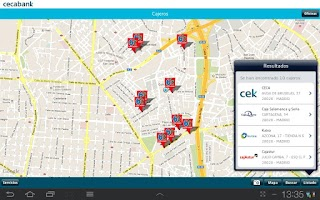 Screenshot of Cecabank